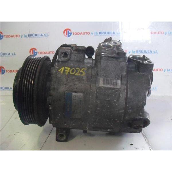 Compresor del aire acondicionado de Peugeot 307 '01