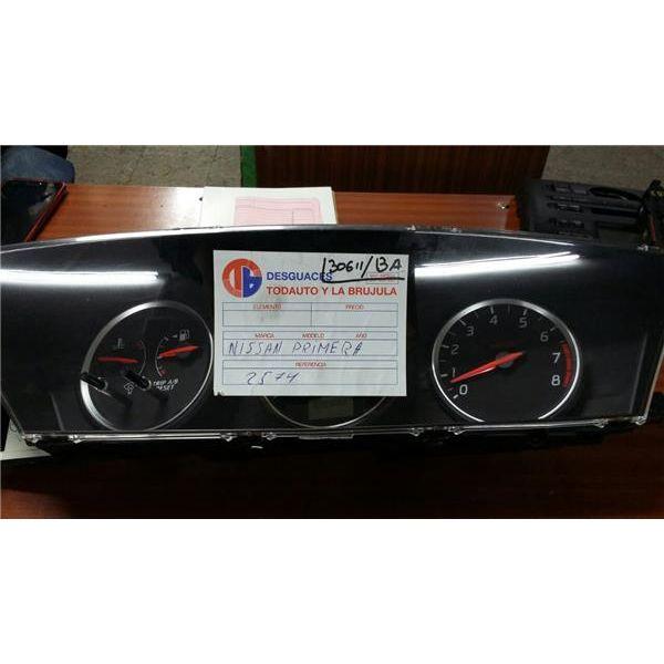 Cuadro completo de Nissan Primera '89