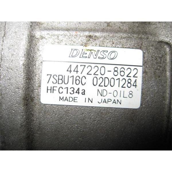 Compresor del aire acondicionado de Renault Vel Satis '02